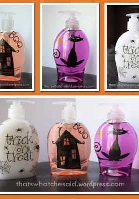 Halloween Soaps from thatswhatchesaid.net