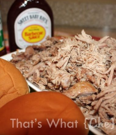 Root Beer Pulled Pork Recipe at thatswhatchesaid.net