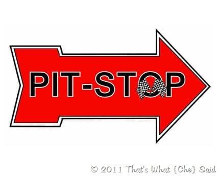 Pit Stop Arrow