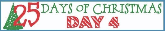 25 Days of Christmas Banner day 4