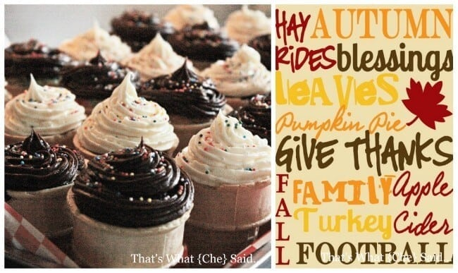 Cupcakes Printable Collage