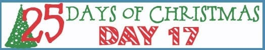 25 Days of Christmas Banner day 17
