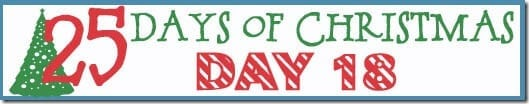 25 Days of Christmas Banner day 18