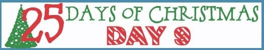 25 Days of Christmas Banner day 9