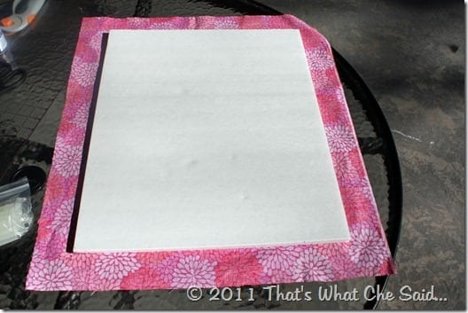 DIY Bulletin Board at thatswhatchesaid.com