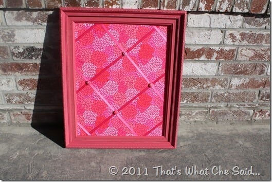DIY Bulletin & Memo Board