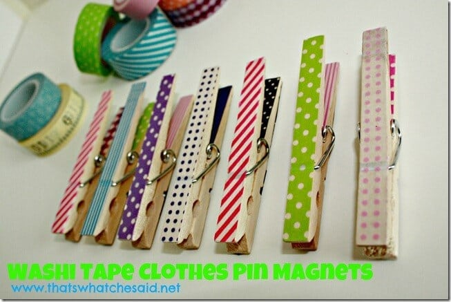 Image result for clothespin magnets
