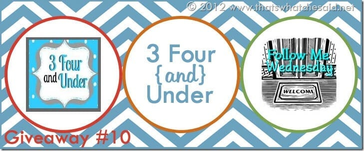 3 Four and Under Banner copy