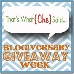 Blogiversary Button