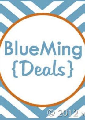 Blogiversary Giveaway #5- BlueMing Deals