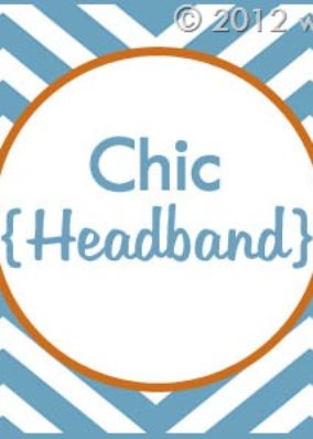 Blogiversary Giveaway #8- Chic Headband