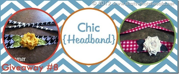 Chic Headband Banner