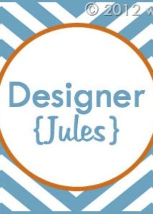 Blogiversary Giveaway #9- Designer Jules