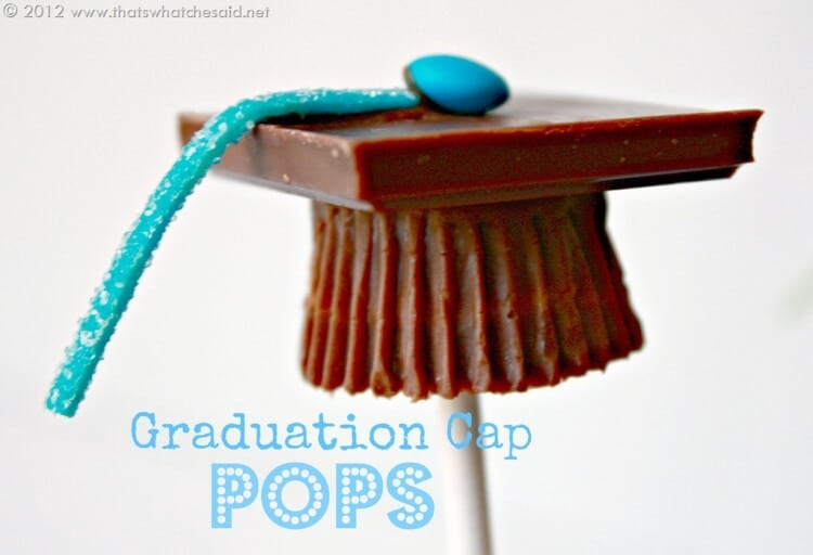 How To Make Graduation Caps For Cake Pops