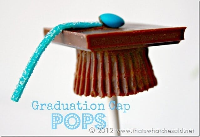 Graduation Cap Candy Pops