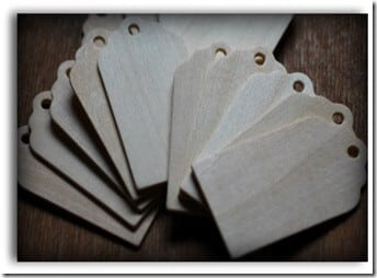 Main Wooden Tags