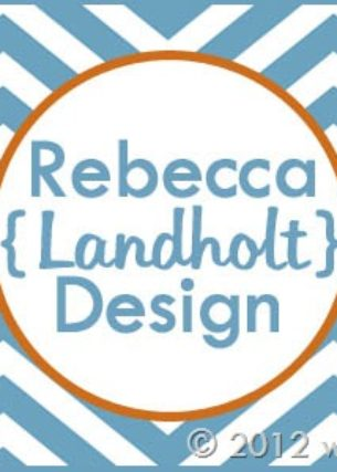 Blogiversary Giveaway #11- Rebecca Landholt Graphic Design