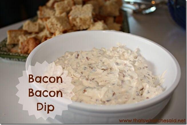 Bacon Bacon Dip