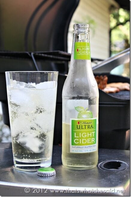 Michelob ULTRA Light Cider and Grilling