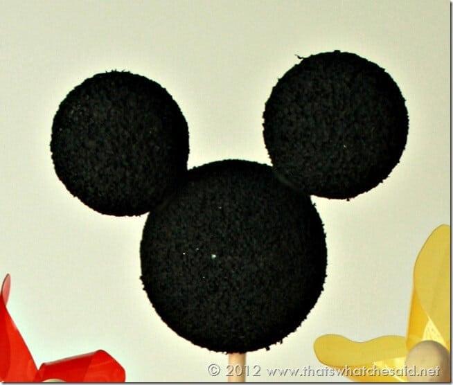 Mickey Centerpiece Head