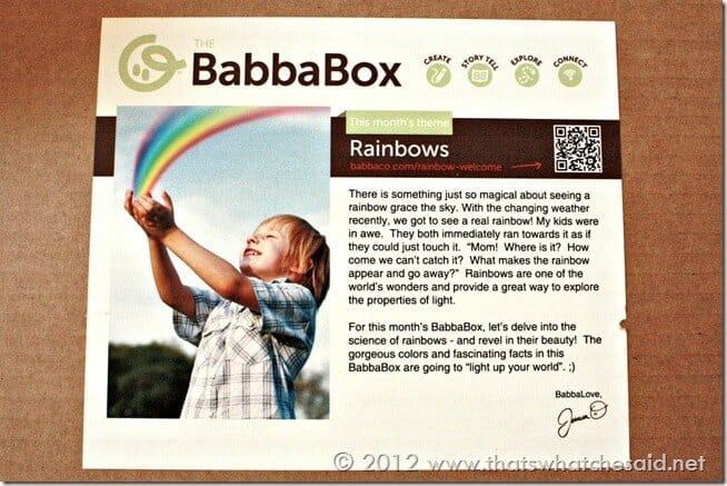 BabbaBox Rainbows