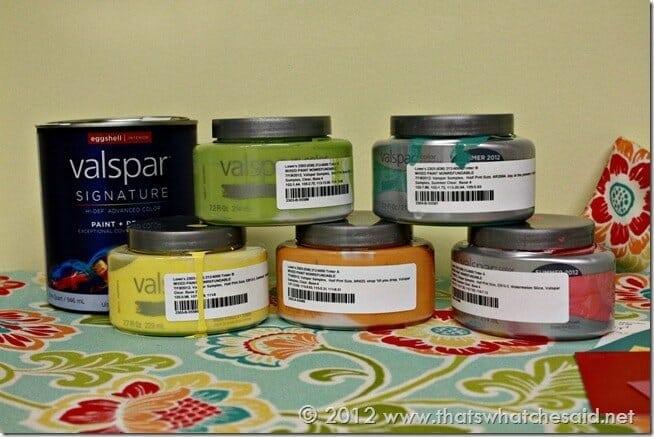 Color Block Dresser Paint Sample Sizes