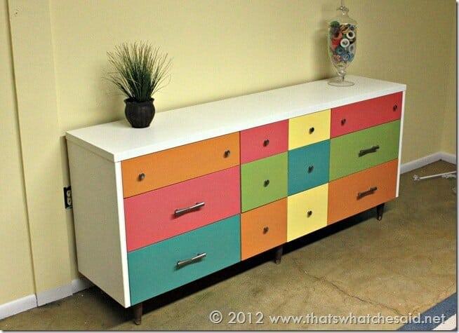 Color Explosion Dresser