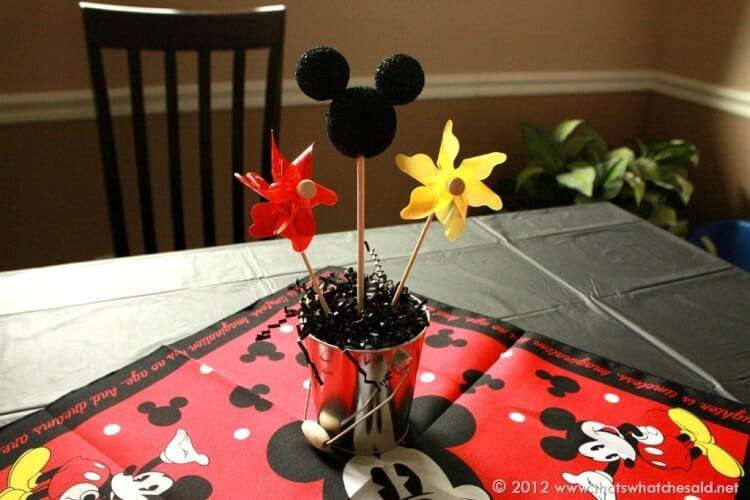 Thats What Che Said Mickey Mouse Birthday Party Thats