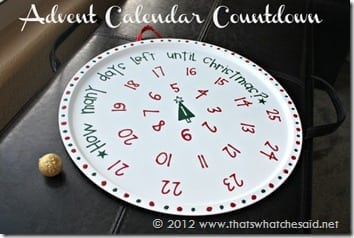 Advent Calendar Countdown