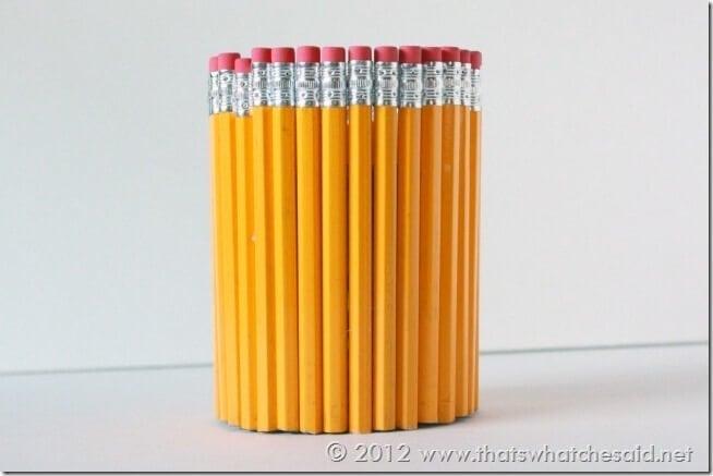 Assembled Pencil Cup
