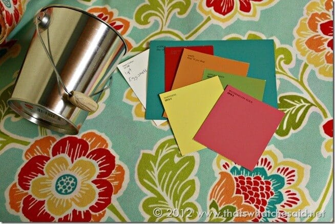 Craft Room Color Pallette