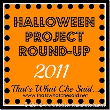 Halloween Project Round Up