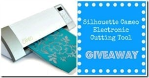 Silhouette Cameo Machine Giveaway Button