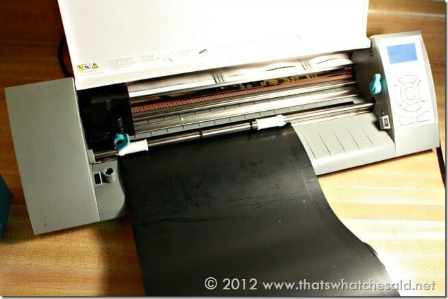 Cutting Heat Transfer on Silhouette Cameo
