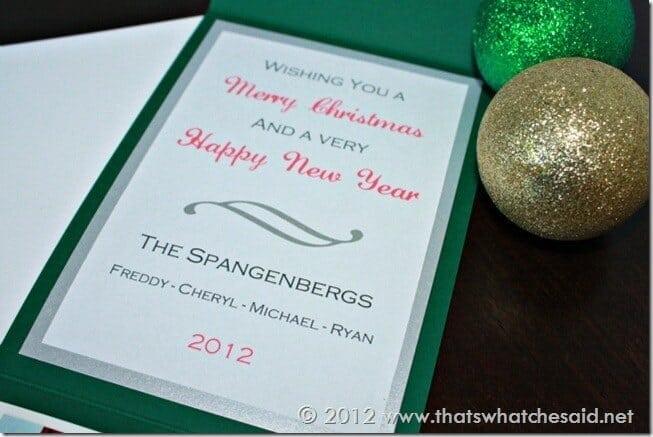 Holiday Card Greeting