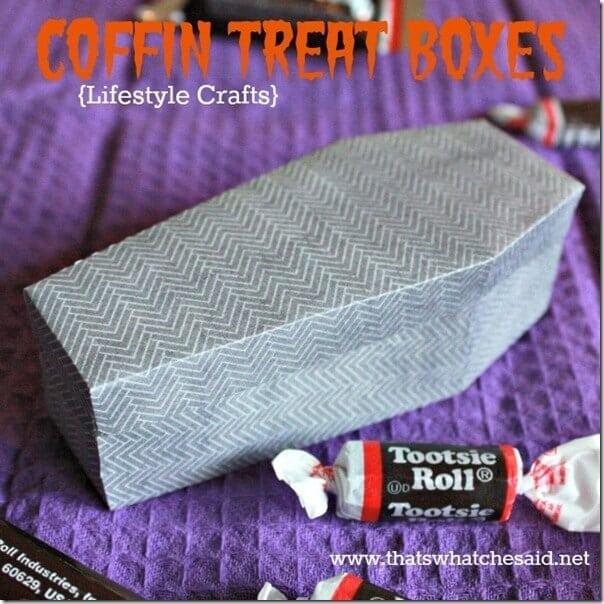 LifeStyle Crafts Coffin Treat Box