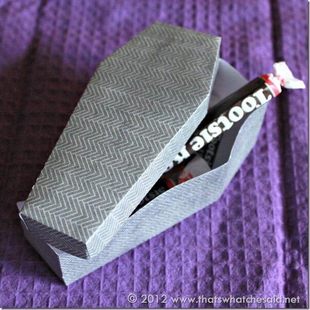 LifeStyle Crafts Treat Box Coffin