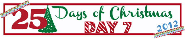 25 Days of Christmas Banner Day 7