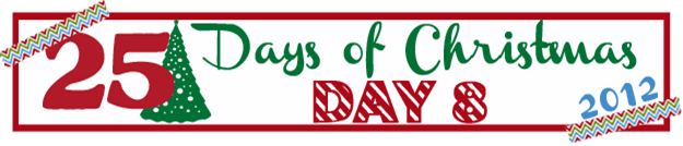 25 Days of Christmas Banner Day 8