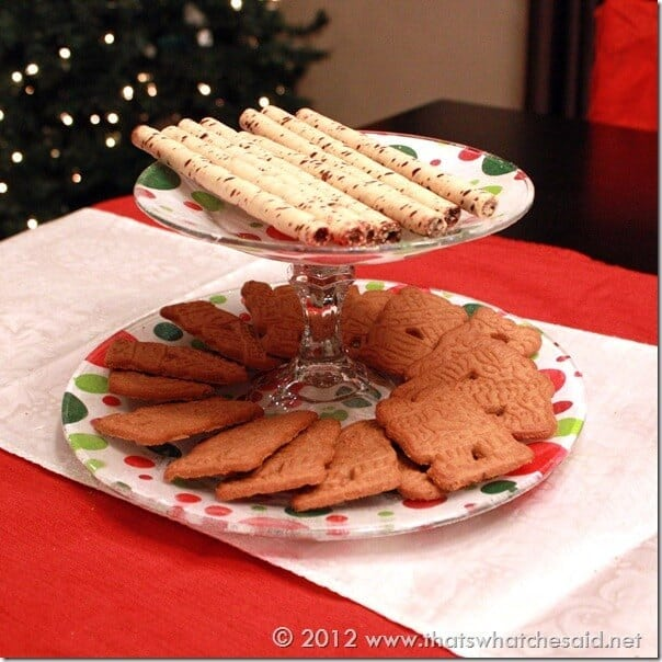 Cookies on Plate Square