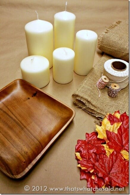 Fall Candle Supplies 1