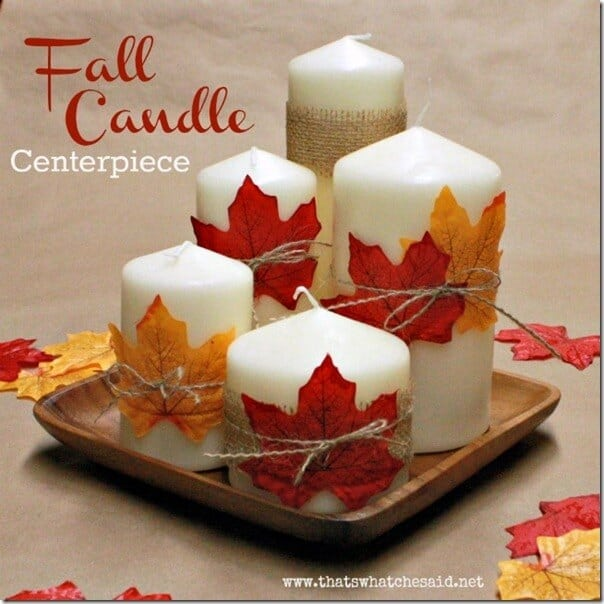 Fall Leaf Centerpiece