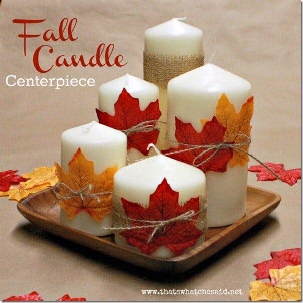 Fall Leaf Centerpiece