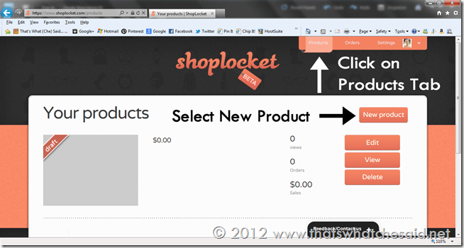 How to Create a Product Post 1