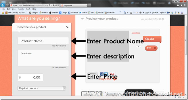 How to Create a Product Post 2