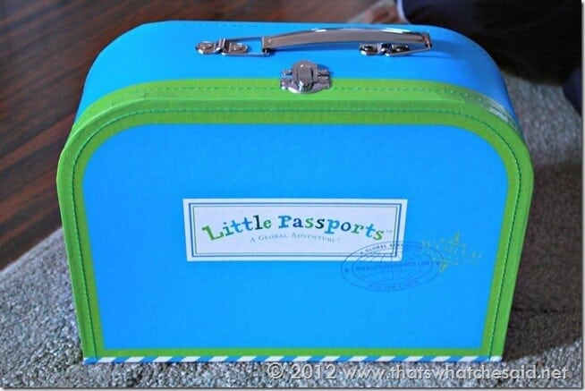 Little Passports Mini Suitcase