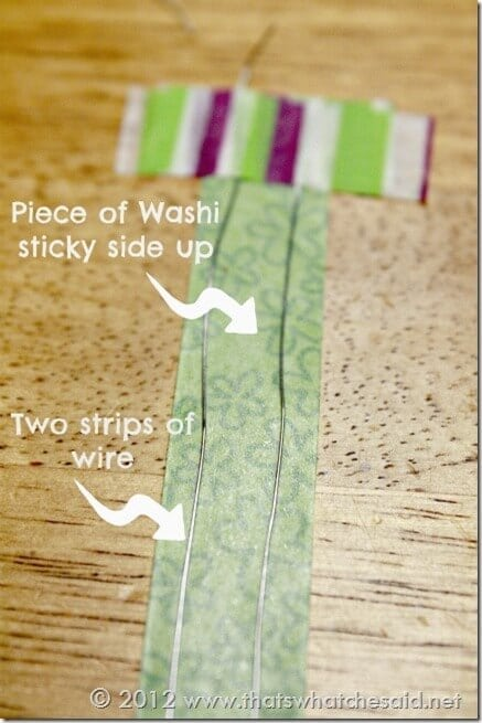 Washi Twisty tie