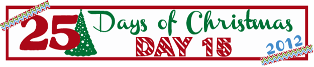 25 Days of Christmas Banner Day 15