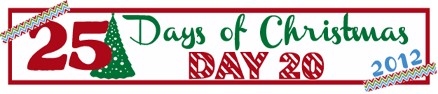 25 Days of Christmas Banner Day 20