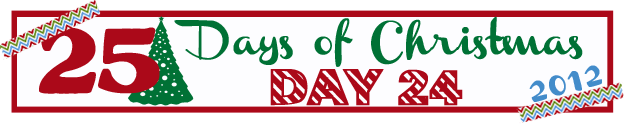 25 Days of Christmas Banner Day 24